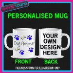PERSONALISED DOG GROOMER GIFT FUNNY BIRTHDAY MUG
